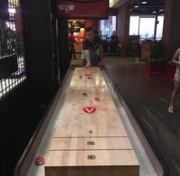 22 ft. Classic Coin Shuffleboard Table by Venture Shuffleboard