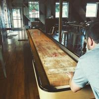 Classic Coin-op Shuffleboard Table