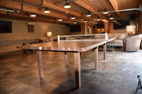 Pool Table and custom made shuffleboard tables at Venture