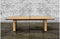 The Turner Ping Pong Table is crafted in the USA by Venture Shuffleboard. This gorgeous game table, conference table, or dinner table is sure to be the focal point of any room or commercial space it's placed in.