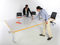 whiteboard table tennis. Perfect for any office,home, or game room