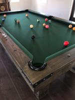 Morse 7' Pool Table w/Premium Billiard Accessories