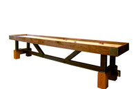 KUSH Shuffleboard tables are handmade in Chattanooga, Tennessee. Quality Game Room Furniture available at Sawyer Twain