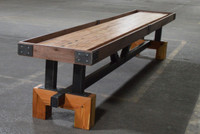 Signature Shuffleboard Table by KUSH Shuffleboard. Quality game tables available at Sawyer Twain