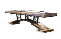 KUSH Shuffleboard presents the Kirsch Shuffleboard Table. Handmade in the USA
