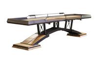 KIRSCH Shuffleboard Table w/Accessories by KUSH