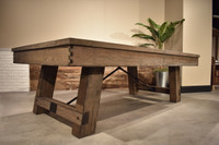Isaac Pool Table by Plank & Hide