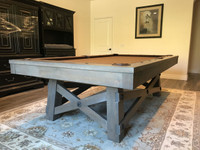Powell 8' Pool Table w/ Premium Accessories