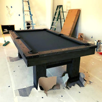 Morse Pool Table by Plank and Hide