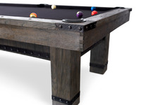Morse Pool Table w/Dining Top by Plank & Hide