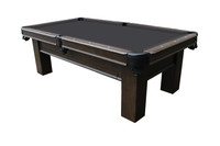 Elias Pool Table w/Storage Drawer