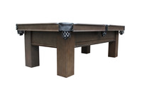 Elias Pool Table with Storage Drawer for Billiard Accessories