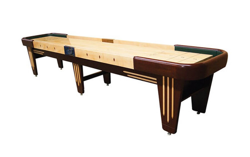 Premium Shuffleboard Table. The Chicago is handmade in the USA and is a fully custom piece of designer furniture
