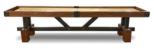 Rustic Modern shuffleboard tables available at Sawyer Twain