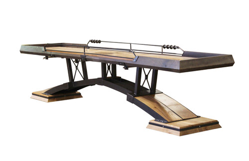 KUSH Shuffleboard presents the Kirsch Shuffleboard Table. Handmade in the USA