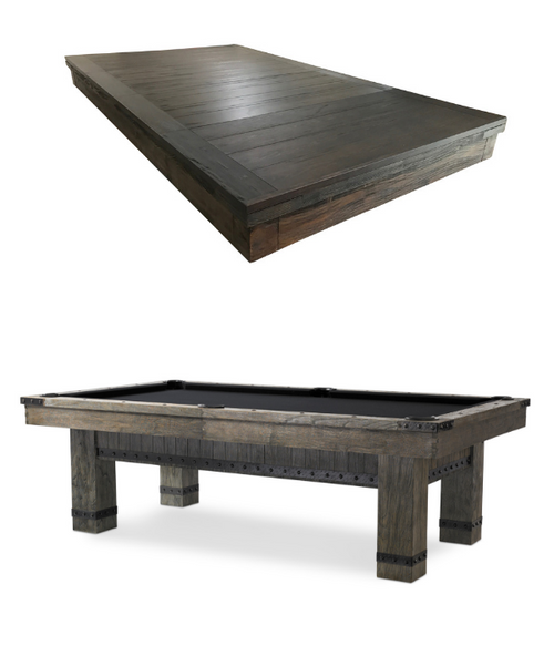 Morse Dining Table Pool Table by Plank & Hide