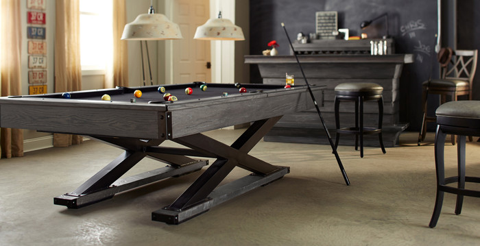 Quest Pool Table by American Heritage Billiards available at Sawyer Twain
