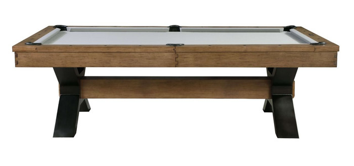 Rustic Pool Table by Plank & Hide. The Rixton is currently featured at Sawyer Twain