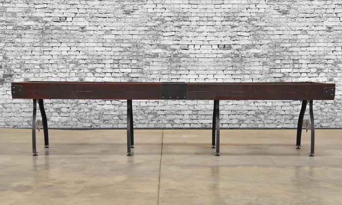 Custom Shuffleboard Table. Created in the USA by Venture Shuffleboard!