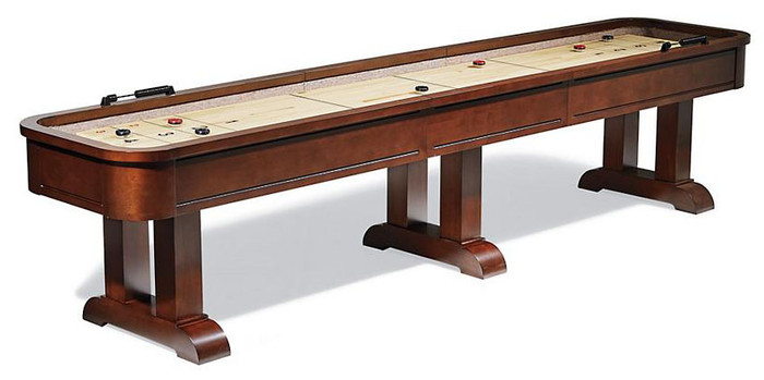 Classic Shuffleboard Table by American Heritage Billiards. Ships for FREE anywhere in the USA!