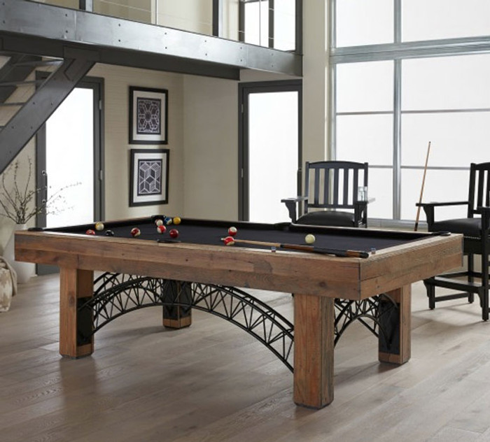 Industrial Pool Table by American Heritage Billiards with FREE SHIPPING & INSTALLATION