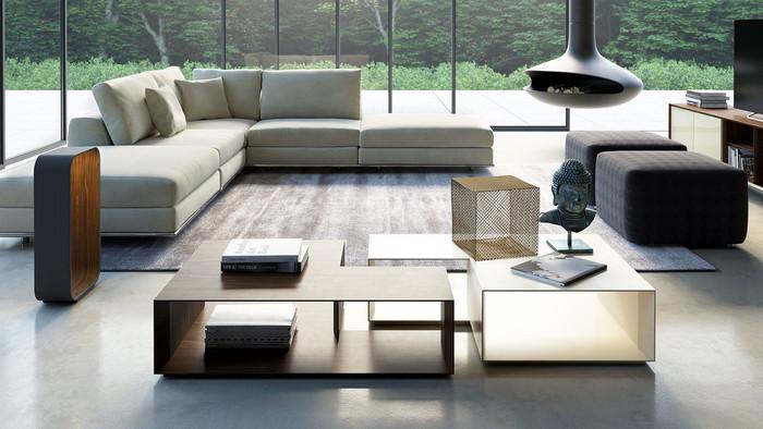 Perry Armless Corner Sofa