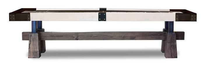 Caldera Shuffleboard Table by KUSH Shuffleboard