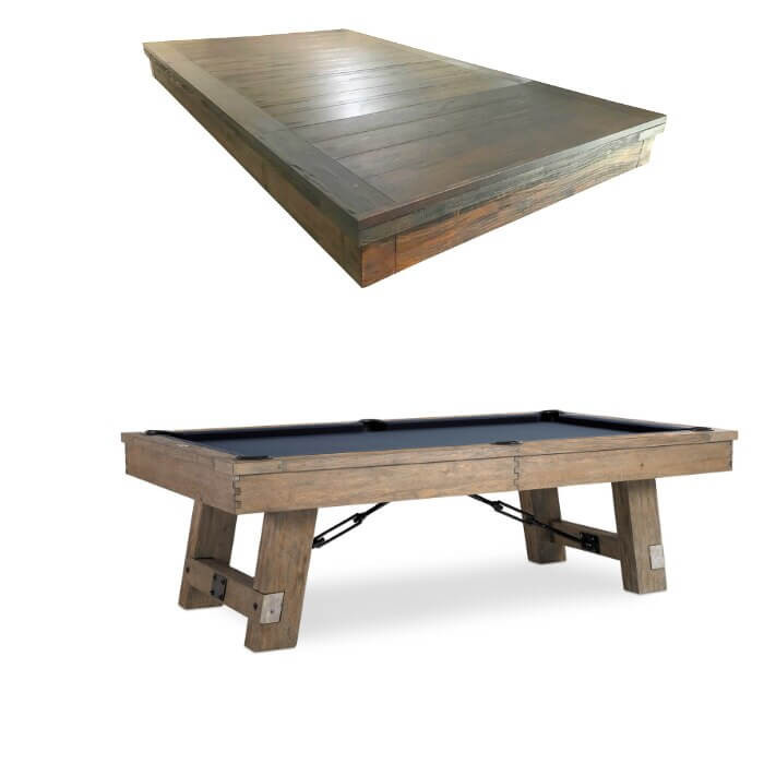 Isaac Dining Pool Table by Plank & Hide