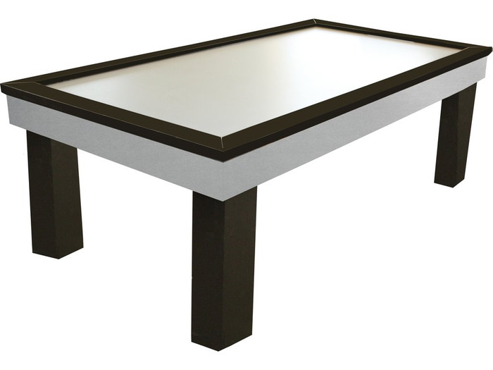 Tradewind Is Black Inset Legs Air Hockey Table By Performance Games