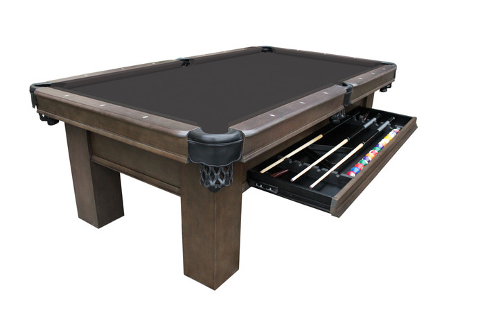 Elias Pool Table with Storage Drawer by Plank & Hide