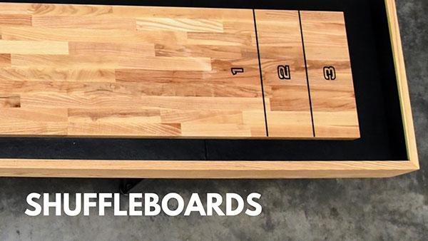 Sawyer Twain Shuffleboards