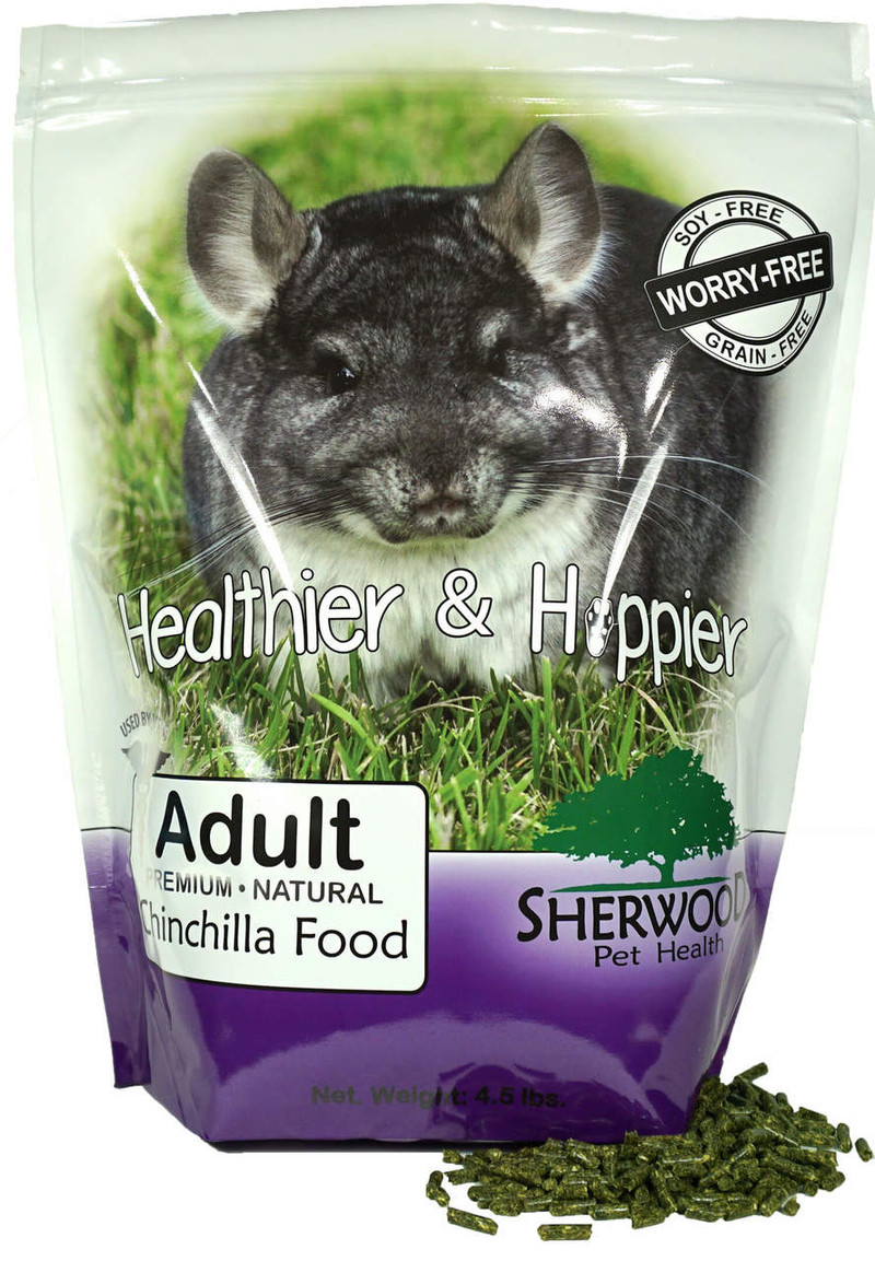 Adult Chinchilla Food