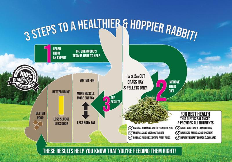 Adult Rabbit Food - Timothy Pellet