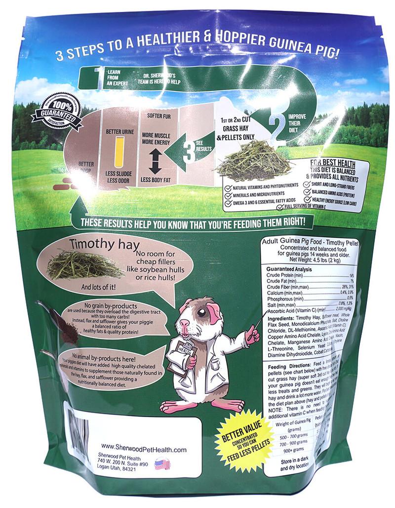 Adult Guinea Pig Food - Timothy Pellet