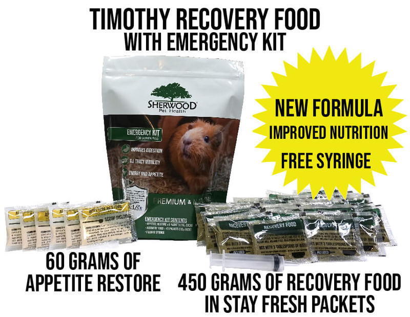 Bulk Recovery Food and/or Emergency Kits for Guinea Pigs