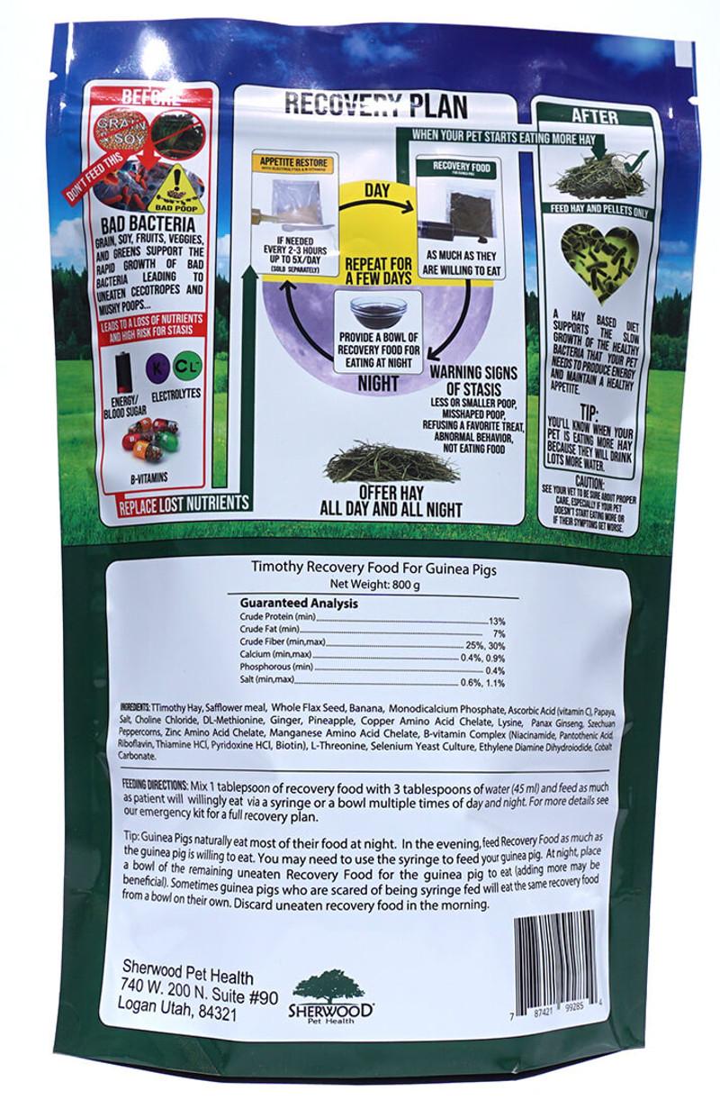 800 gram bulk recovery food back