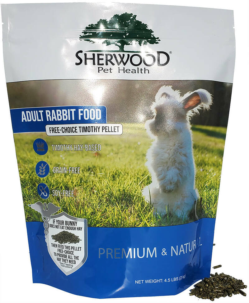 Adult Rabbit Food - Free Choice Timothy Pellet