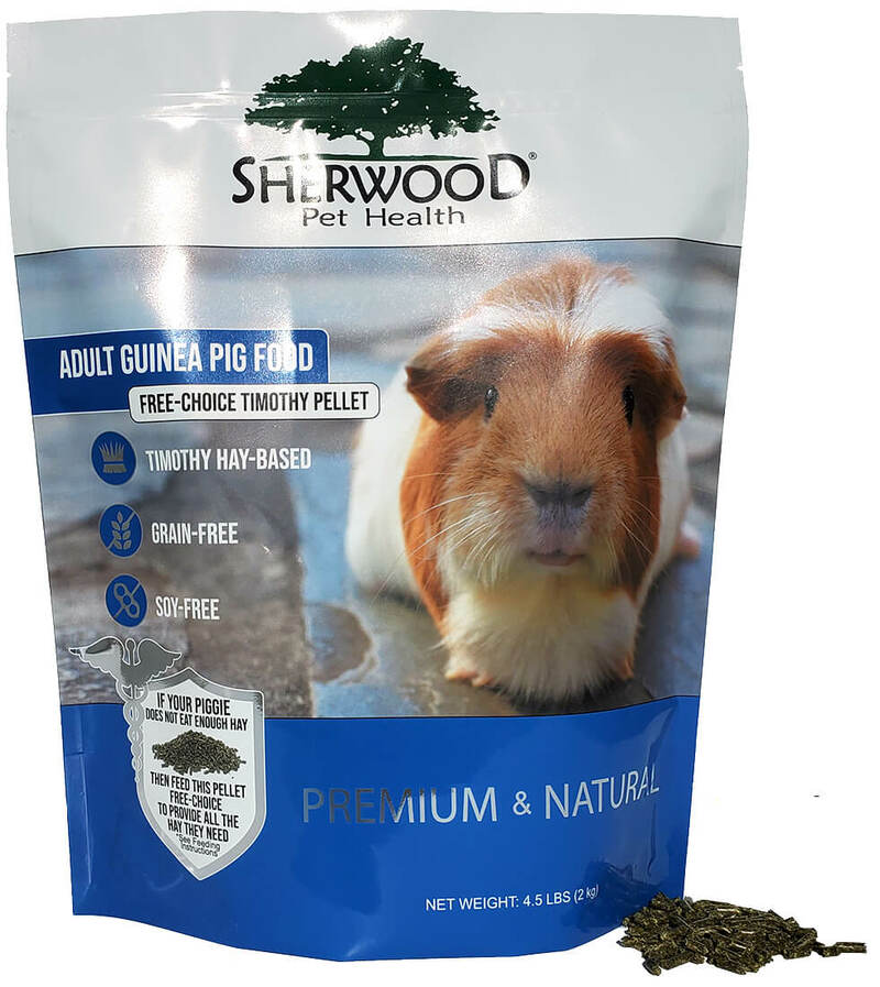 Adult Guinea Pig Food - Free Choice Timothy Pellet