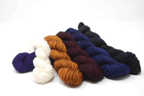 Tina's Twisted Fibers mini skein set