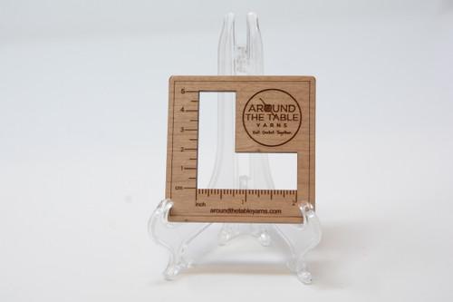 Katrinkles ATTY  Gauge swatch ruler