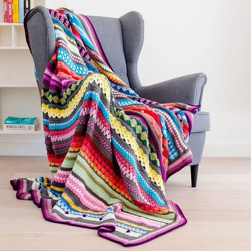 Rainbow Sampler Blanket Kit