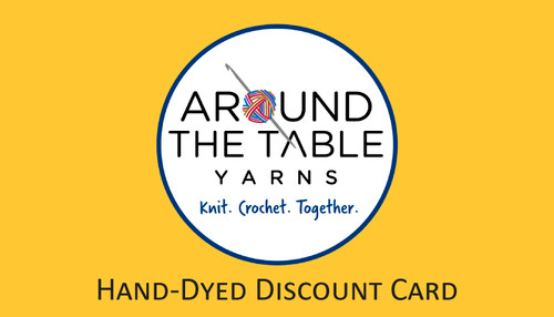 Hand-dyed Discount Card
