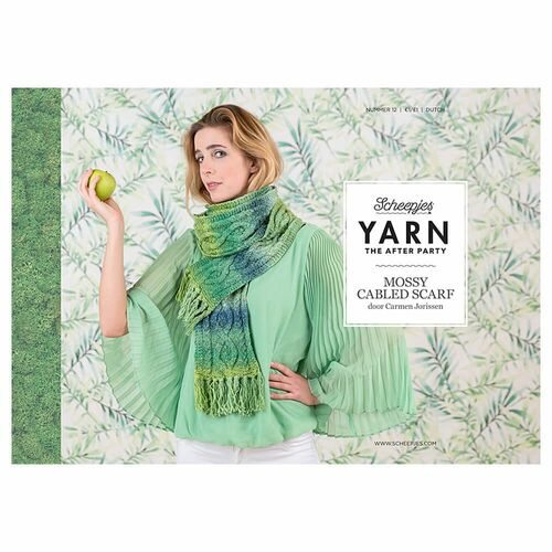 YTAP K12 Mossy Cabled Scarf