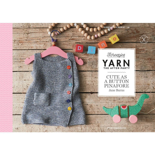 Cute as a Button Pinafore