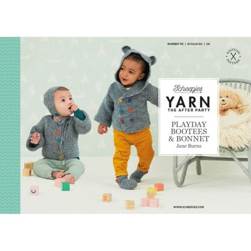 YTAP K110 Playday Bootees and Bonnet