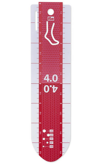 Prym Hand Gauge for Sock Knitting