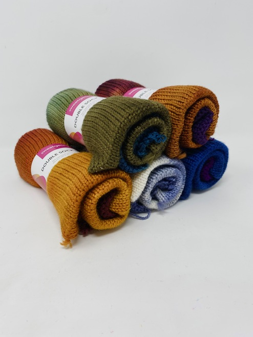 Sweet Georgia Double Sock Blanks
