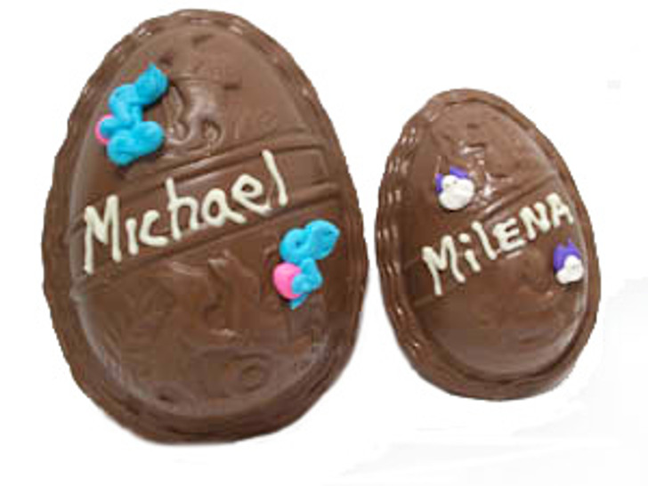 Personalized Name Eggs