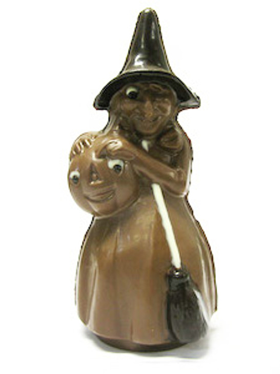 Large Chocolate Witch