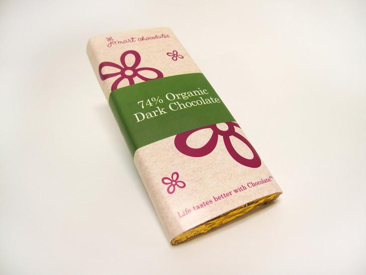 Organic 74% Chocolate Bar